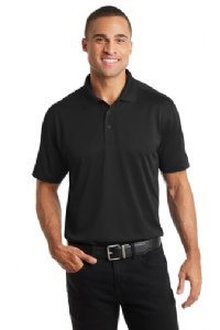 Men's Diamond Jacquard Polo