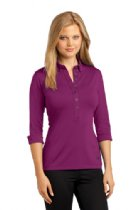 Ladies Ogio 3/4 Sleeve Polo