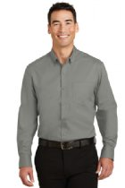 Men's Long Sleeve SuperPro Twill Shirt