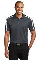 Men's Colorblock Stripe Polo
